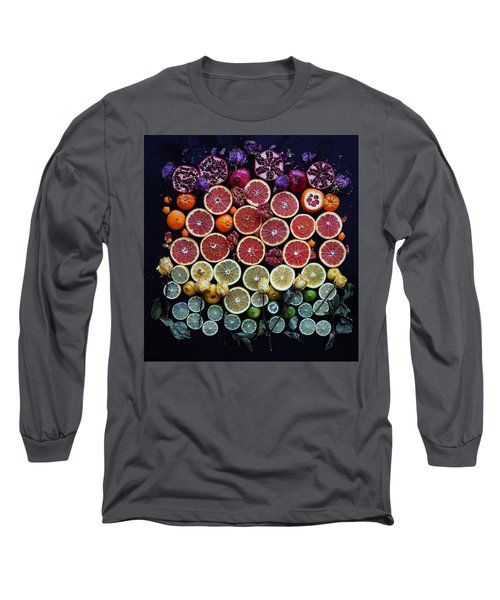 Rainbow Citrus Etc Long Sleeve T-Shirt