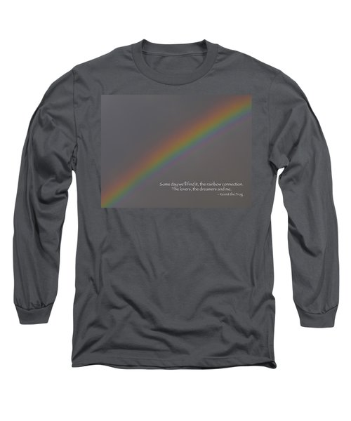 Rainbow Connection Long Sleeve T-Shirt by Julia Wilcox