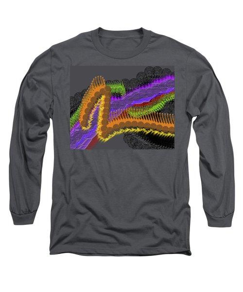 Rainbow Currents Long Sleeve T-Shirt