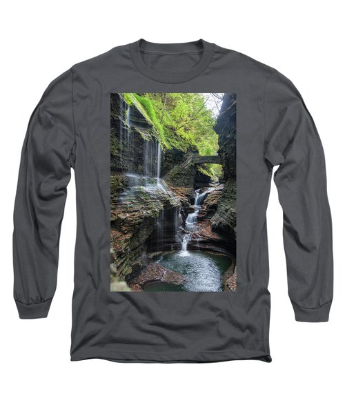 Rainbow Falls, Ny Long Sleeve T-Shirt
