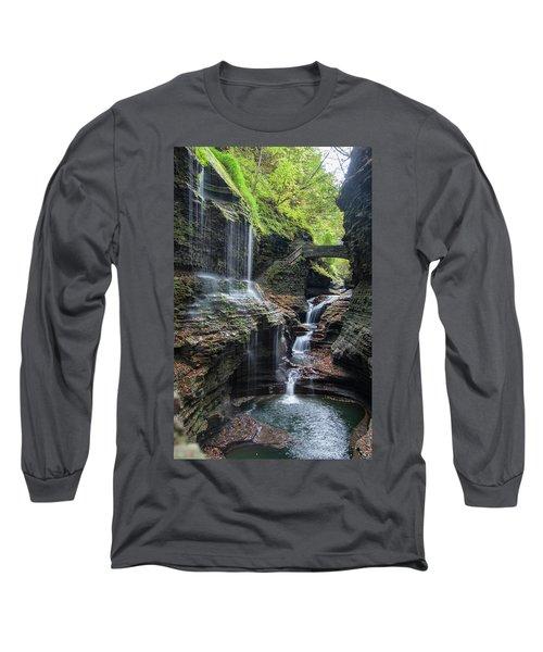 Rainbow Falls, Ny Long Sleeve T-Shirt