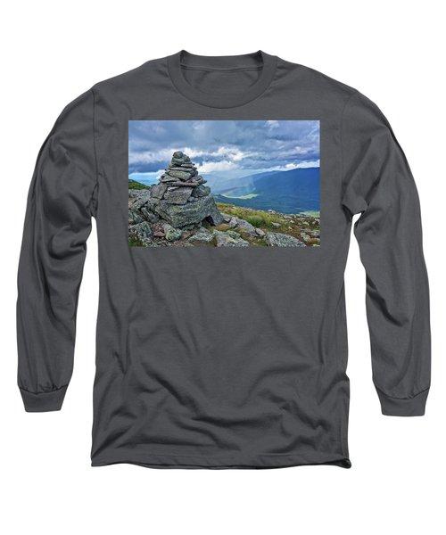 Rainbow In The Mist Nh Long Sleeve T-Shirt