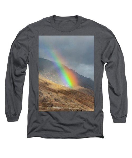 Rainbow, Kaza, 2008 Long Sleeve T-Shirt