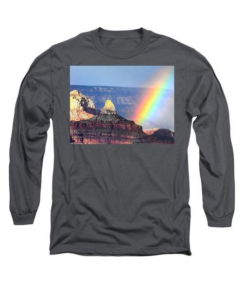 Rainbow Kisses The Grand Canyon Long Sleeve T-Shirt