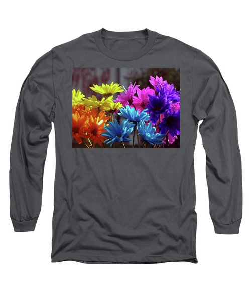 Rainbow Mums 5 Of 5 Long Sleeve T-Shirt by Tina M Wenger