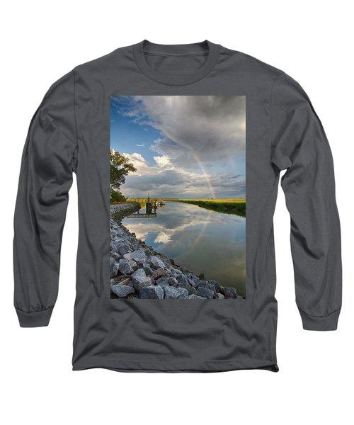Rainbow Reflection Long Sleeve T-Shirt