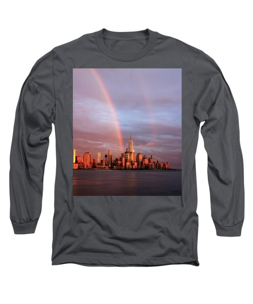 Rainbows In Nyc Long Sleeve T-Shirt