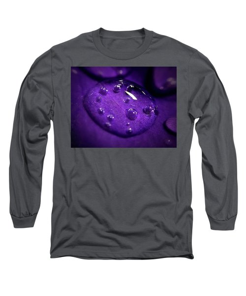 Raindrop, Prn Long Sleeve T-Shirt