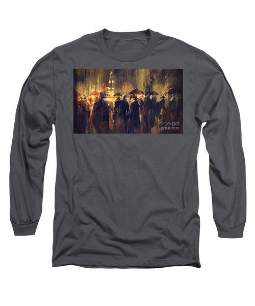 Raining Long Sleeve T-Shirt
