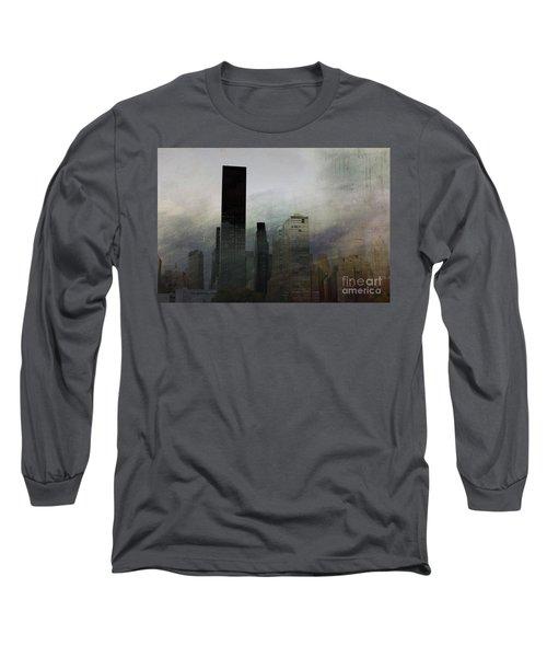 Rainy Day In Manhattan Long Sleeve T-Shirt