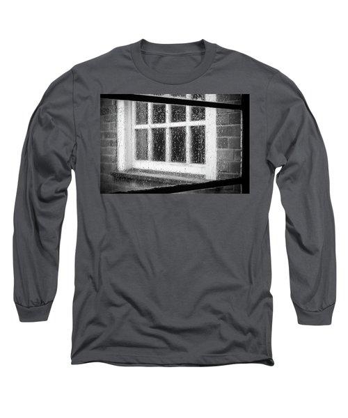 Rainy Day Window Long Sleeve T-Shirt