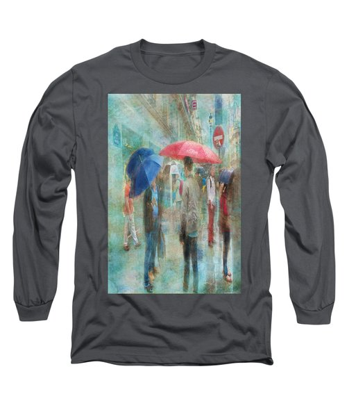 Rainy In Paris 6 Long Sleeve T-Shirt
