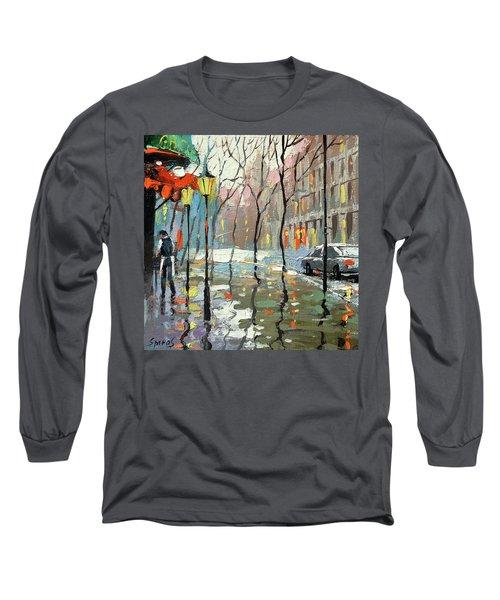 Rainy Landscape Long Sleeve T-Shirt