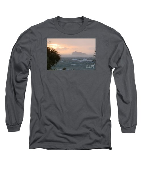 Rainy Xmas Sunrise Long Sleeve T-Shirt