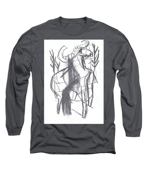 Ram In A Forest Long Sleeve T-Shirt