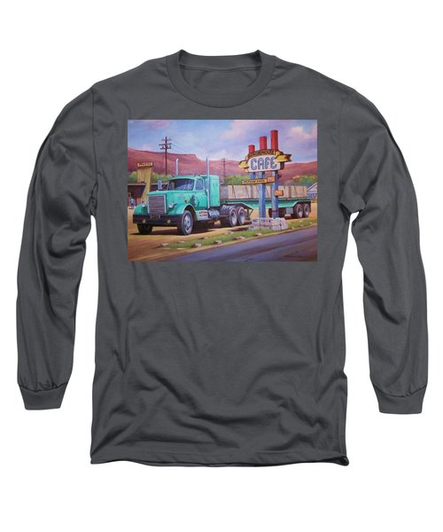 Ranch House Truckstop. Long Sleeve T-Shirt by Mike Jeffries