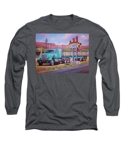 Ranch House Truckstop. Long Sleeve T-Shirt