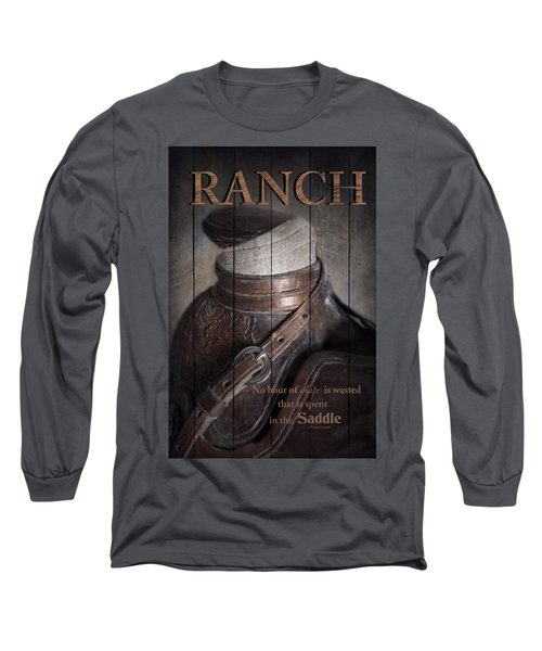 Ranch Long Sleeve T-Shirt by Robin-Lee Vieira