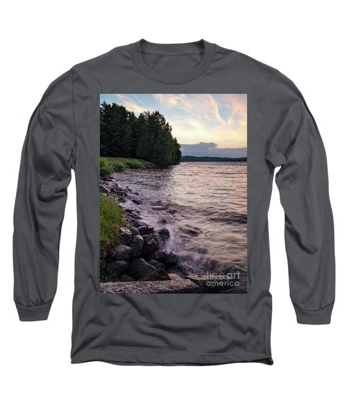 Rangeley Lake State Park In Rangeley Maine  -53215-53218 Long Sleeve T-Shirt