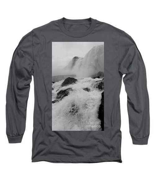 Rapid Stream Long Sleeve T-Shirt by Raymond Earley