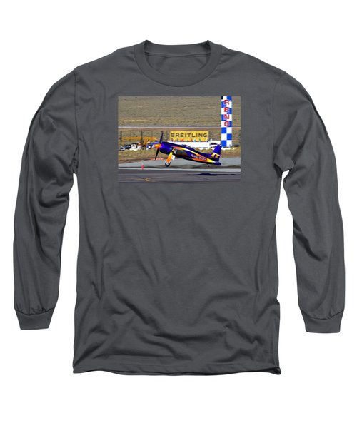 Rare Bear Take-off Sunday's Unlimited Gold Race Long Sleeve T-Shirt