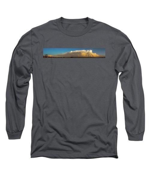 Rare Tornadic Supercells In Nebraska 005 Long Sleeve T-Shirt