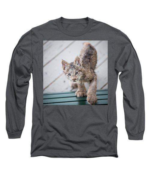 Does Click Mean Edible Long Sleeve T-Shirt