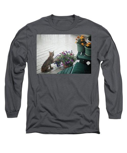 Swat The Petunias Long Sleeve T-Shirt