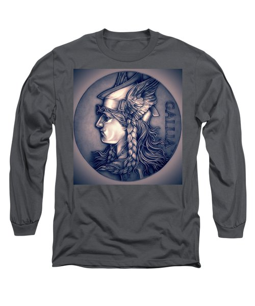 Rasberry Goddess Of Gaul Long Sleeve T-Shirt by Fred Larucci