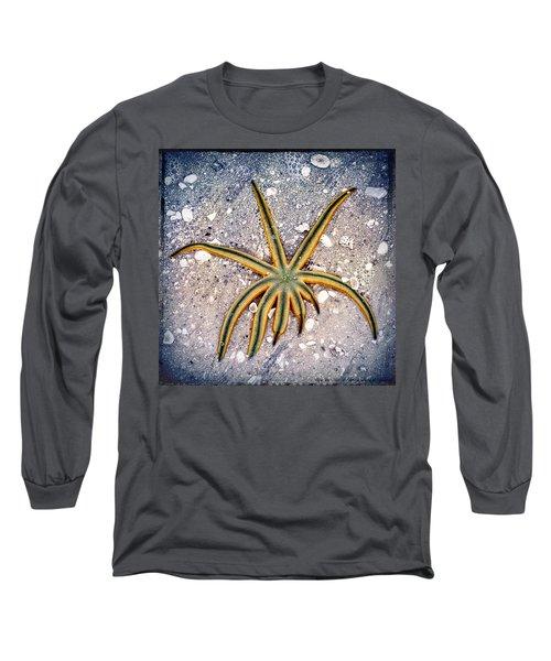 Rasta Star Long Sleeve T-Shirt by Robert FERD Frank