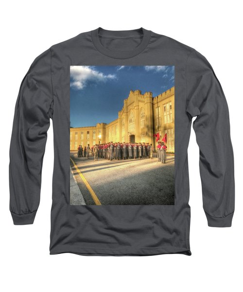 Rats Practice For The Christmas Parade Long Sleeve T-Shirt