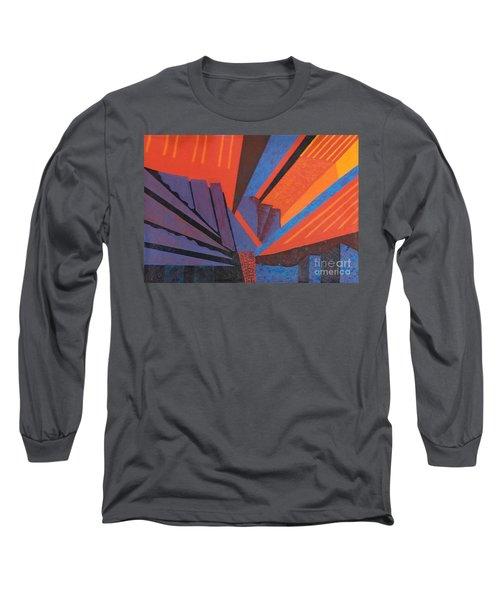 Rays Floor Cloth - Sold Long Sleeve T-Shirt