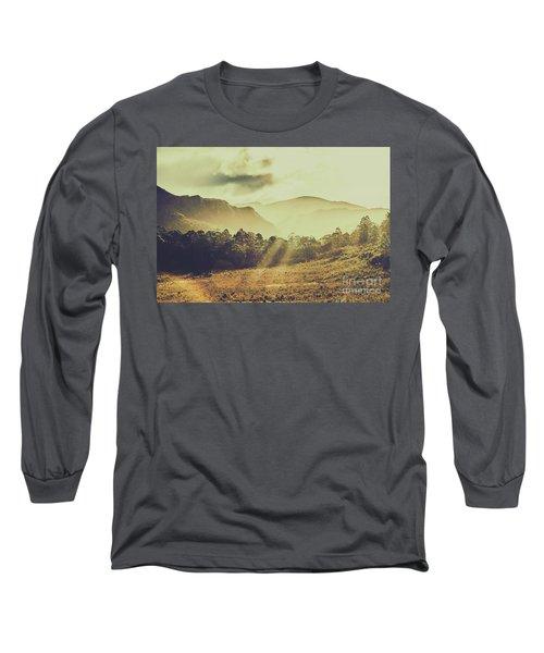 Rays Of Dusk Long Sleeve T-Shirt
