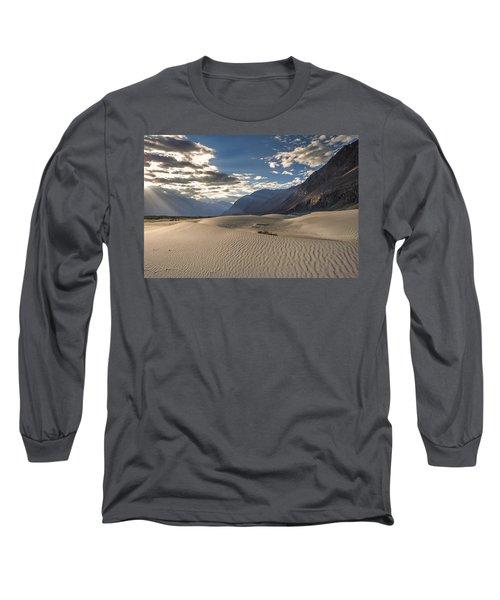 Rays On Dunes Long Sleeve T-Shirt