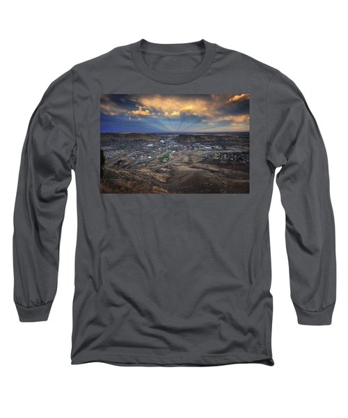 Rays Over Golden Long Sleeve T-Shirt