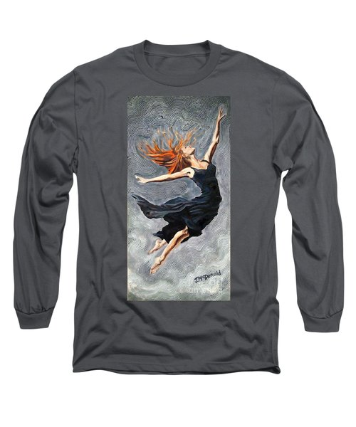 Reach For The Stars Long Sleeve T-Shirt by Janet McDonald