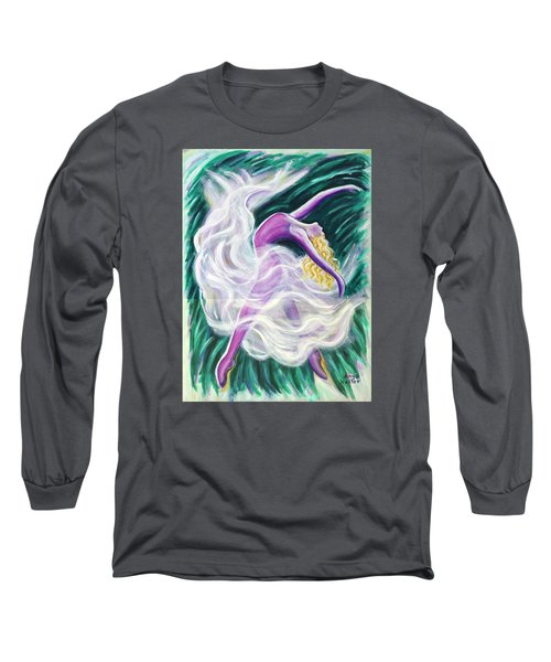 Reaching Out Long Sleeve T-Shirt by Anya Heller