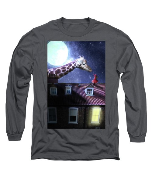 Reaching Out Long Sleeve T-Shirt by Nathan Wright