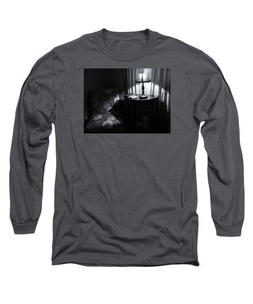 Reading Corner Long Sleeve T-Shirt by Bonnie Bruno