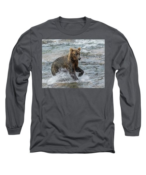 Ready For Action  Long Sleeve T-Shirt