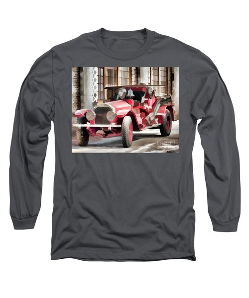 Long Sleeve T-Shirt featuring the photograph Ready To Serve Again by Wilma Birdwell