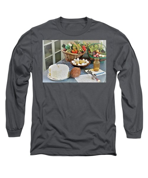 Real Food Long Sleeve T-Shirt
