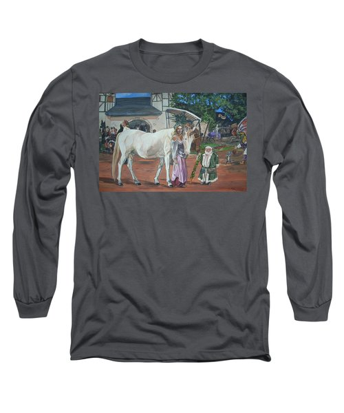 Real Life In Her Dreams Long Sleeve T-Shirt by Bryan Bustard