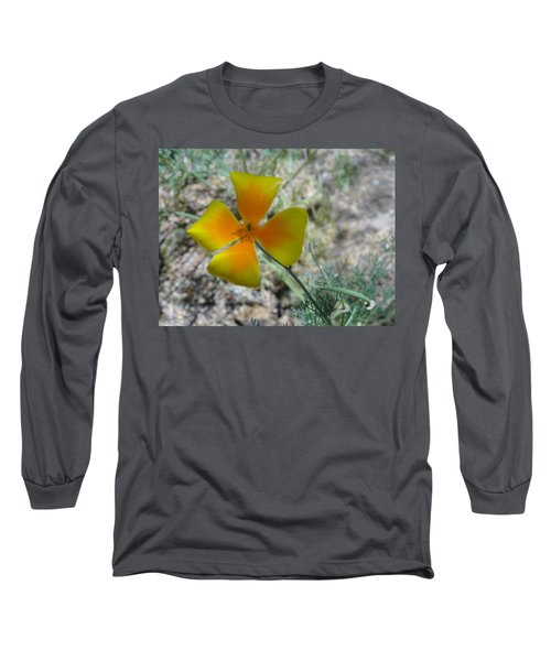 One Gold Flower Living Life In The Desert Long Sleeve T-Shirt