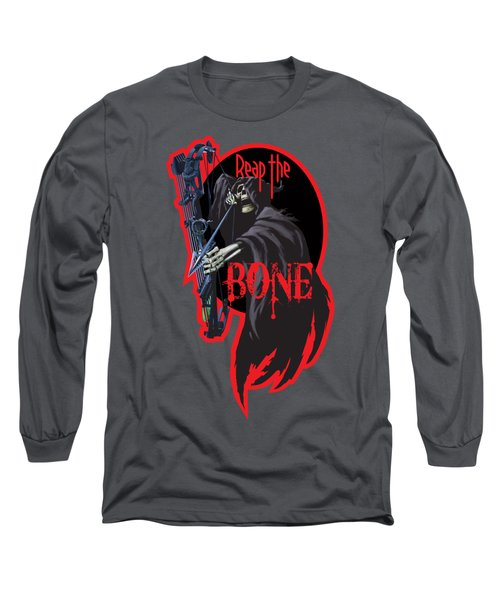 Reaper Archer Long Sleeve T-Shirt by Rob Corsetti