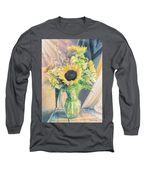 Long Sleeve T-Shirt featuring the photograph Reared In The Lap Of Summer by Bellesouth Studio