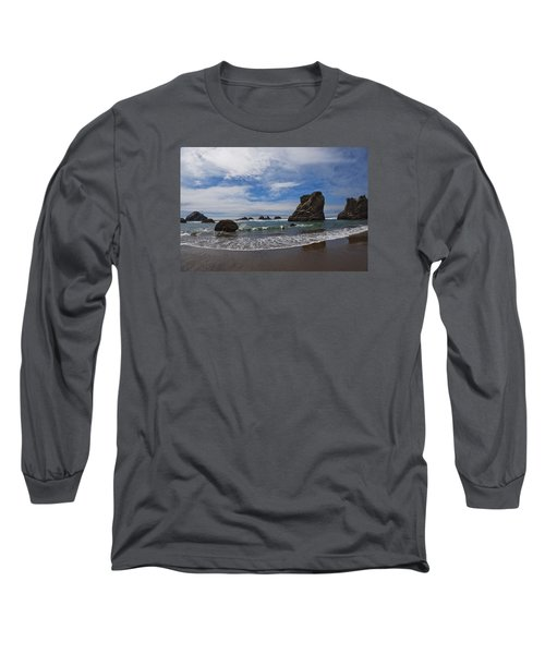 Receding Wave Long Sleeve T-Shirt