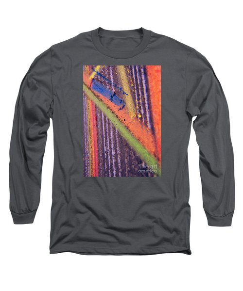 Record  Lp Long Sleeve T-Shirt by Kristine Nora