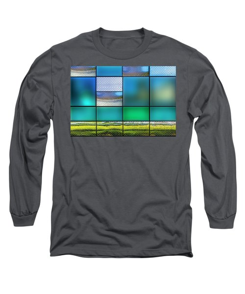 Rectangles Long Sleeve T-Shirt by Paul Wear