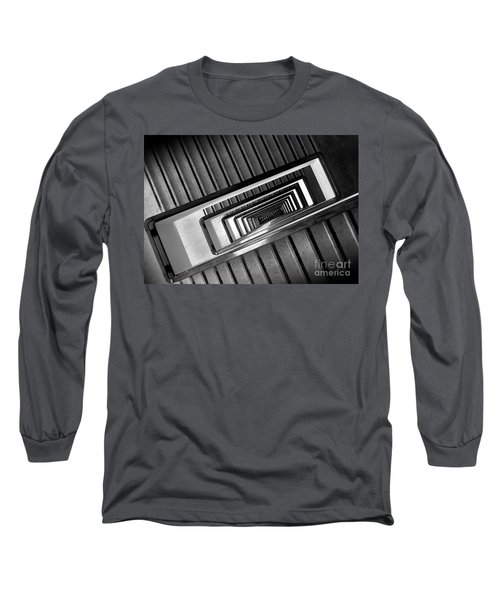 Rectangular Spiral Staircase Long Sleeve T-Shirt